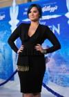 Demi Lovato: Frozen Hollywood Premiere -25