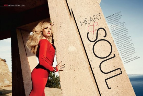 Demi Lovato: Latina Magazine -07