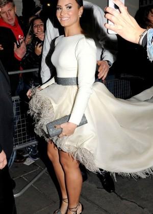 Demi Lovato - Leaving The London Palladium in London