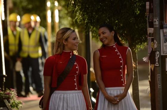 Demi Lovato And Naya Rivera Glee Episode
