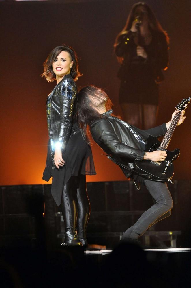 Demi Lovato: Neon Lights World Tour in Raleigh -14