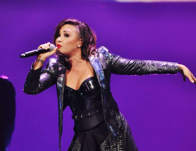 Demi Lovato: Neon Lights World Tour in Raleigh -22