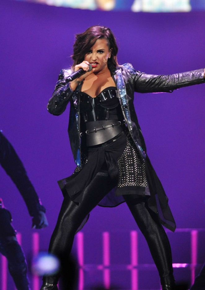 Demi Lovato: Neon Lights World Tour in Raleigh -26