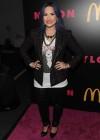 Demi Lovato: NYLON Magazine Party -07