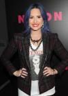 Demi Lovato: NYLON Magazine Party -09
