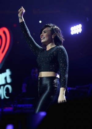 Demi Lovato - Performs at HOT 99.5's Jingle Ball 2014 in Washington