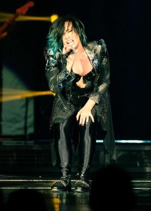 Demi Lovato - Performs at O2 Arena in London