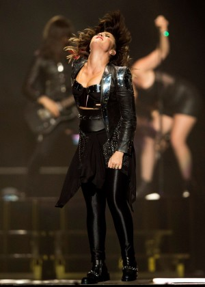 Demi Lovato - Performs Liveat at Demi World Tour at Staples Center in Los Angeles
