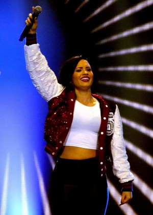Demi Lovato - Performs Live at 101.3 KDWB's Jingle Ball 2014 in St Paul