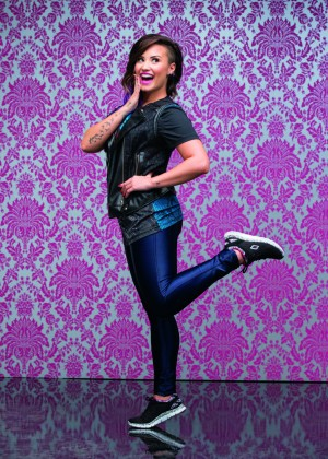 Demi Lovato - Skechers 2014 Holiday Campaign