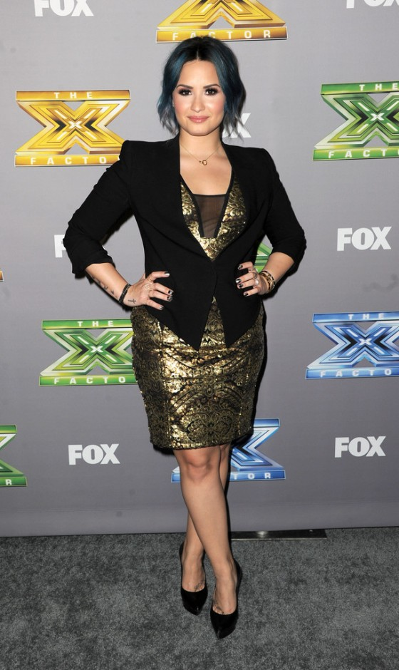 Demi Lovato: The X Factor Season Finale 2013 -02