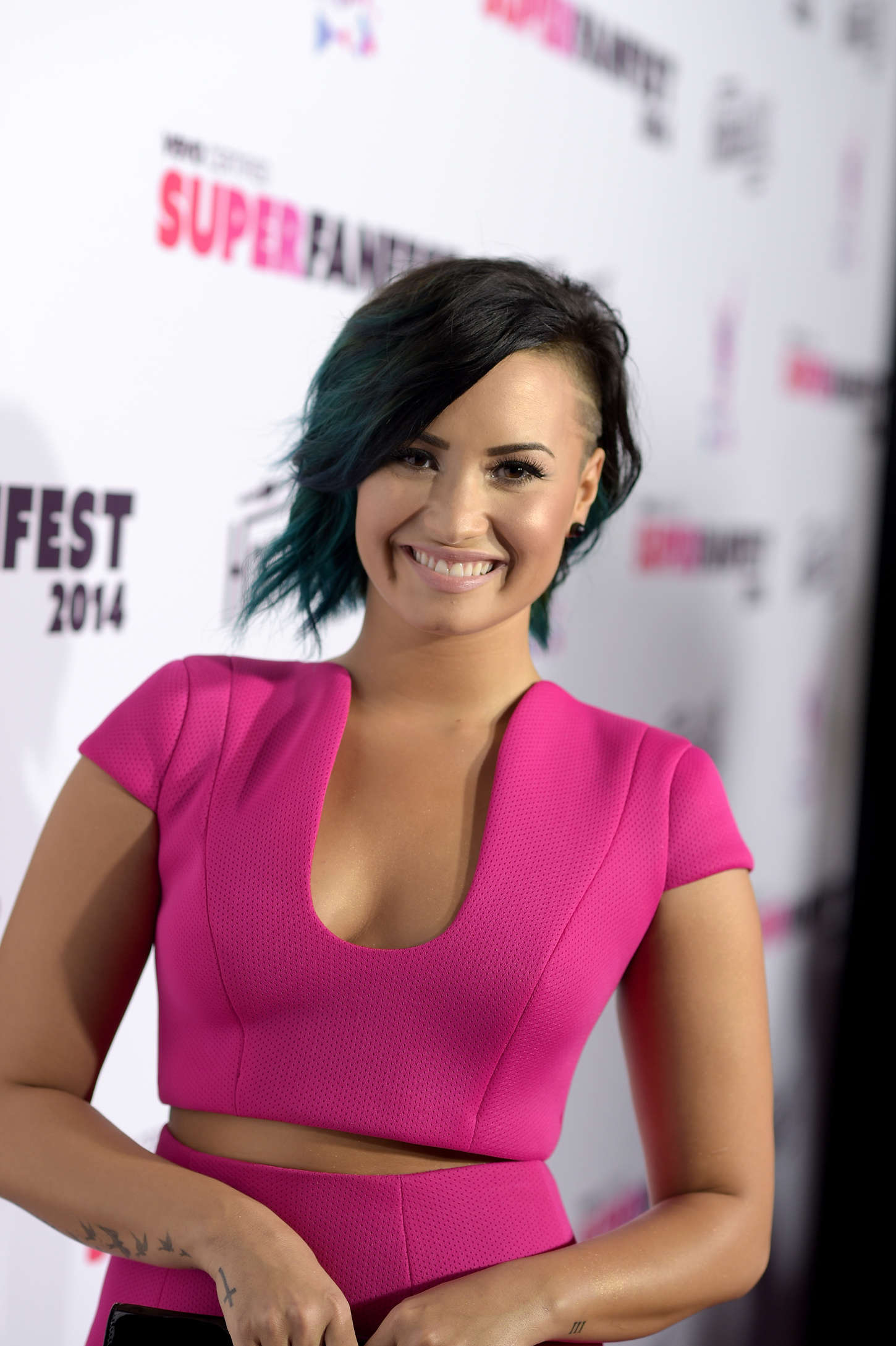 Demi Lovato Devonne >> Demi Lovato - 2014 Vevo CERTIFIED SuperFanFest -02 - GotCeleb