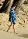 Demi Lovato in a Bikini at a Beach in Barbados -09