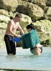 Demi Lovato in a Bikini at a Beach in Barbados -13