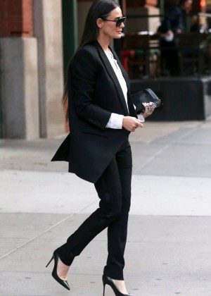 Demi Moore - Out & About in NYC