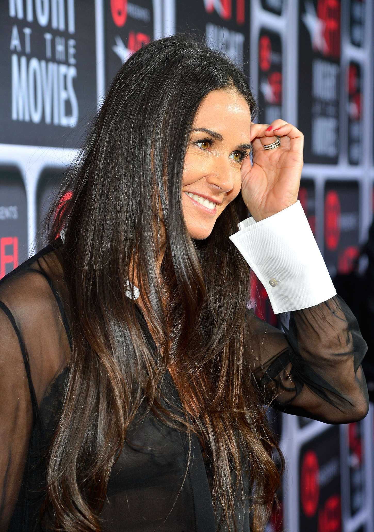 to post Demi Moore –...