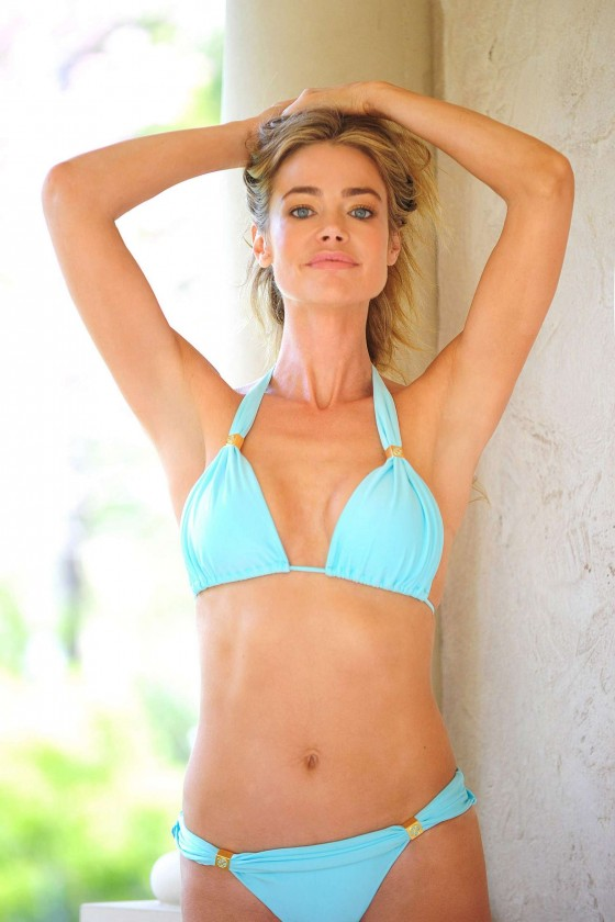 Denise Richards – bikini photoshoot-14
