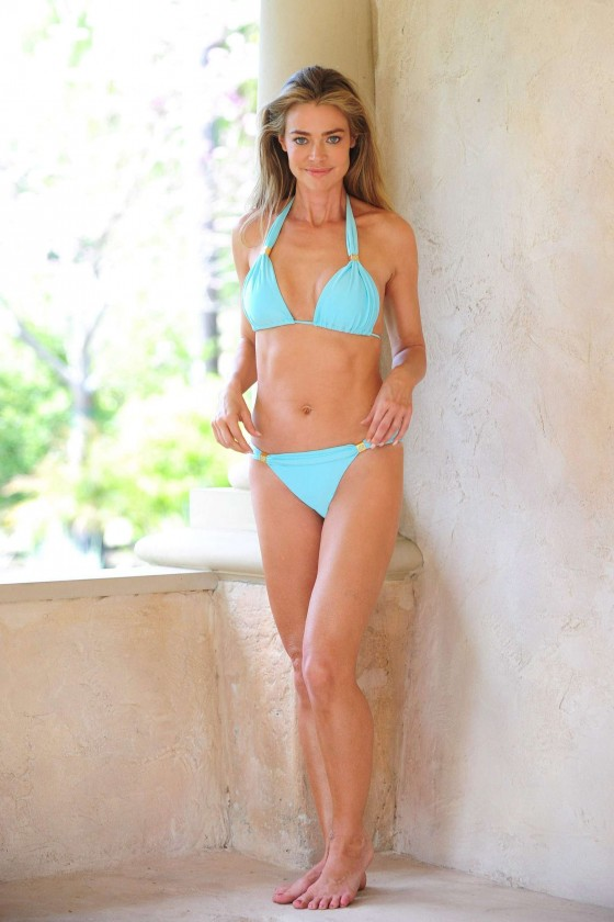 Denise Richards – bikini photoshoot-19