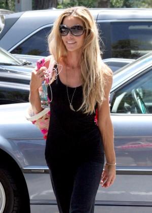 Denise Richards Shopping in Beverly Hills