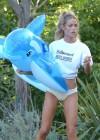 Denise Richards - wearing a Bikini in LA -05