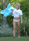 Denise Richards - wearing a Bikini in LA -11
