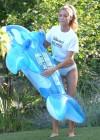 Denise Richards - wearing a Bikini in LA -16