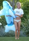 Denise Richards - wearing a Bikini in LA -21