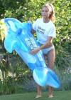 Denise Richards - wearing a Bikini in LA -25