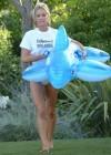 Denise Richards - wearing a Bikini in LA -37