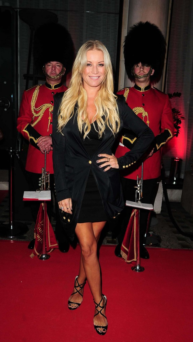 Denise Van Outen at Professor Jonathan Shalit's OBE Party in London