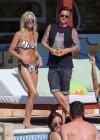 Denise Van Outen and Zoe Hardman - poolside candids in Ibiza -15