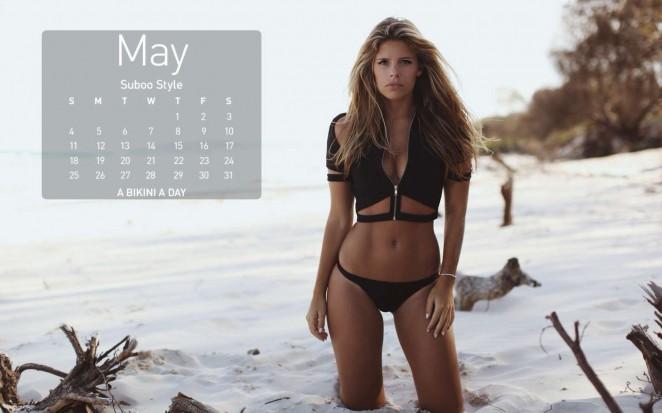 Devin Brugman: A Bikini A Day 2014 Calendar -05