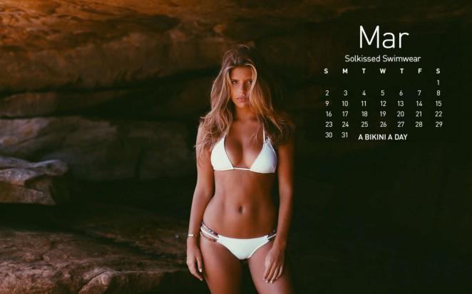 Devin Brugman: A Bikini A Day 2014 Calendar -09