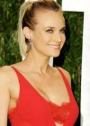 Diane Kruger cleavage at Vanity Fair Oscar Party 2012-08