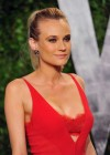 Diane Kruger cleavage at Vanity Fair Oscar Party 2012-10