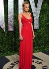 Diane Kruger cleavage at Vanity Fair Oscar Party 2012-13