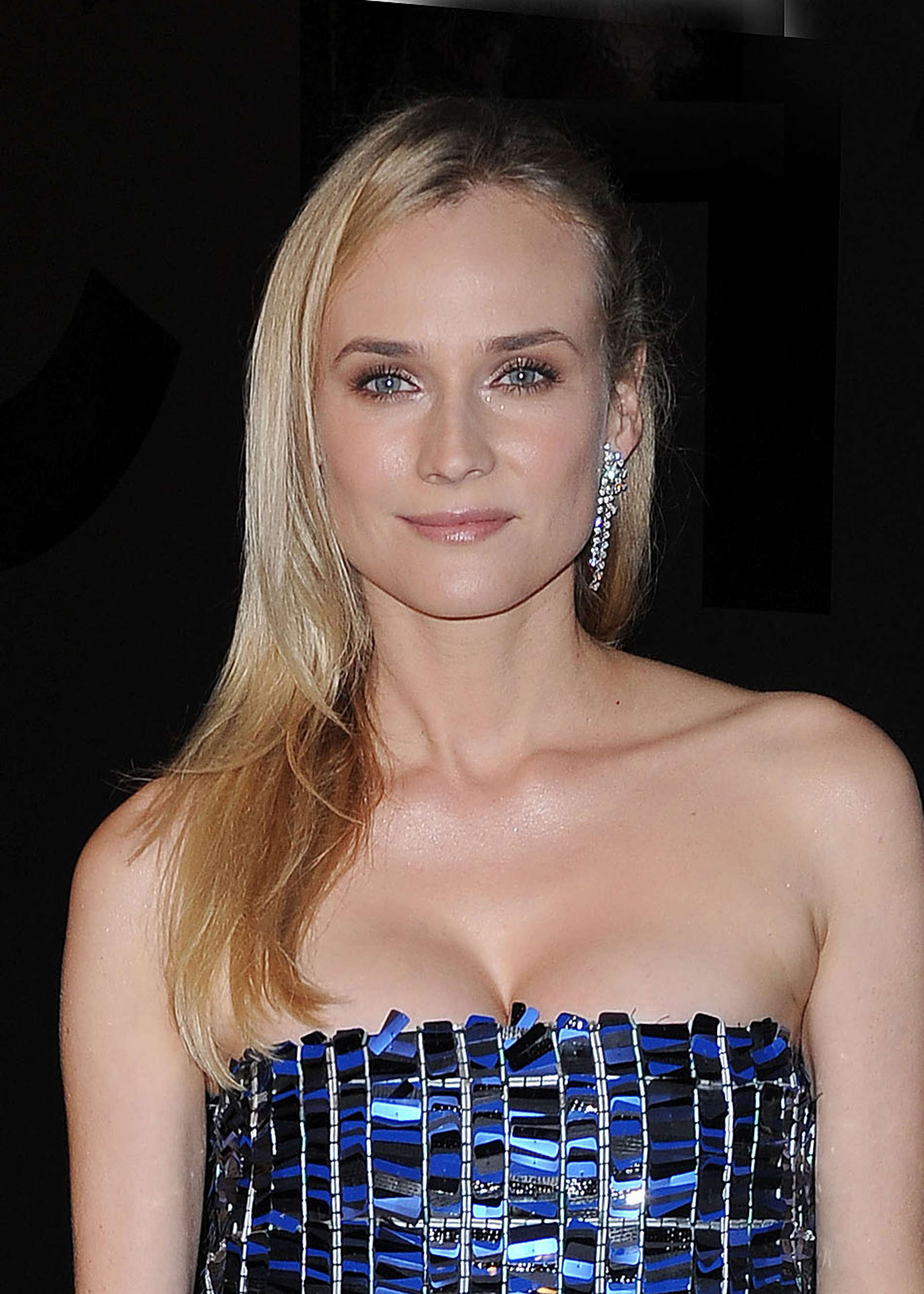 Topless Cleavage Diane Kruger naked photo 2017