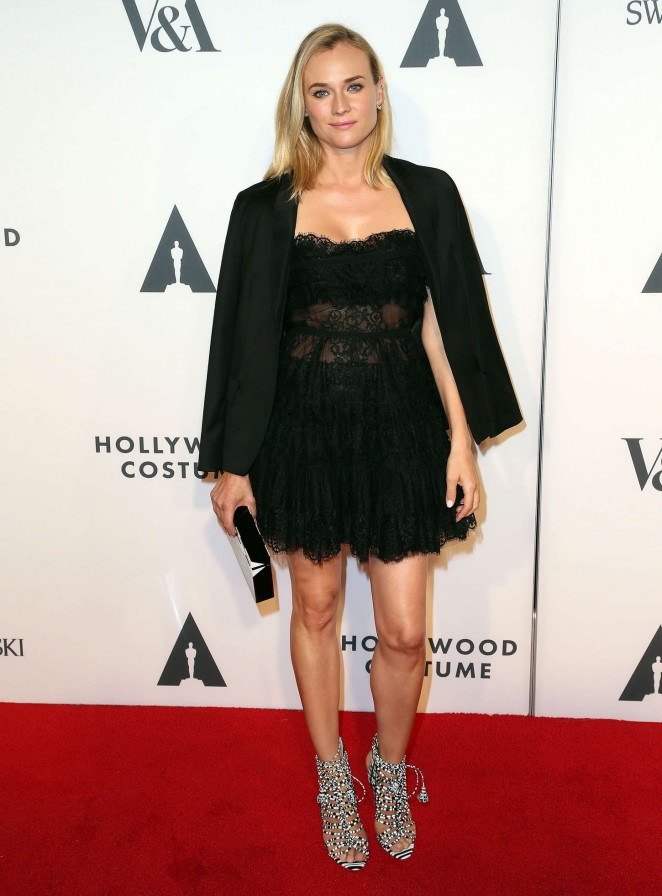 Diane Kruger - AMPAS Hollywood Costume Opening Party in LA