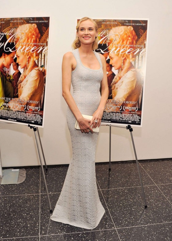 Diane Kruger at FAREWELL MY QUEEN Screening in NYC-02