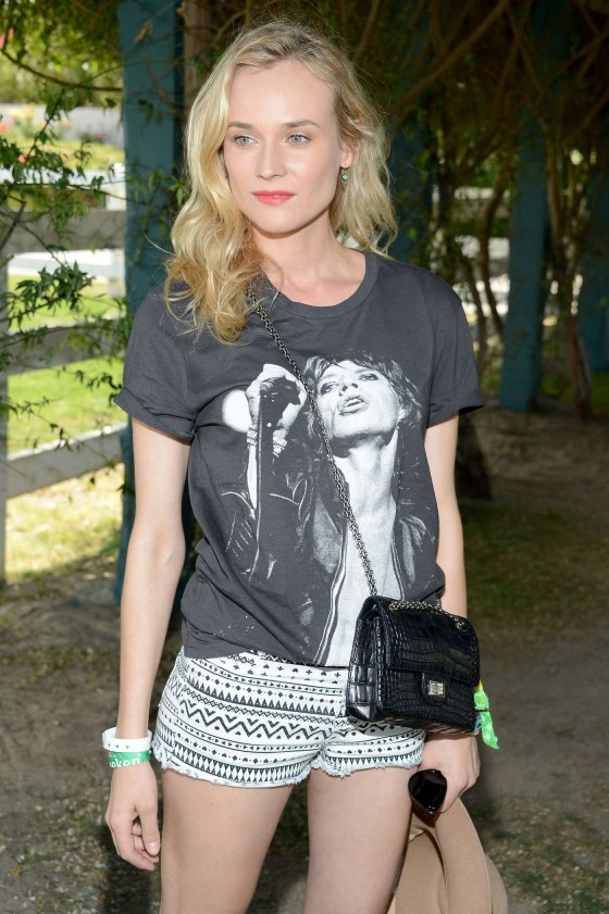 Diane Kruger at HM Loves Coachella Event 2013 -02