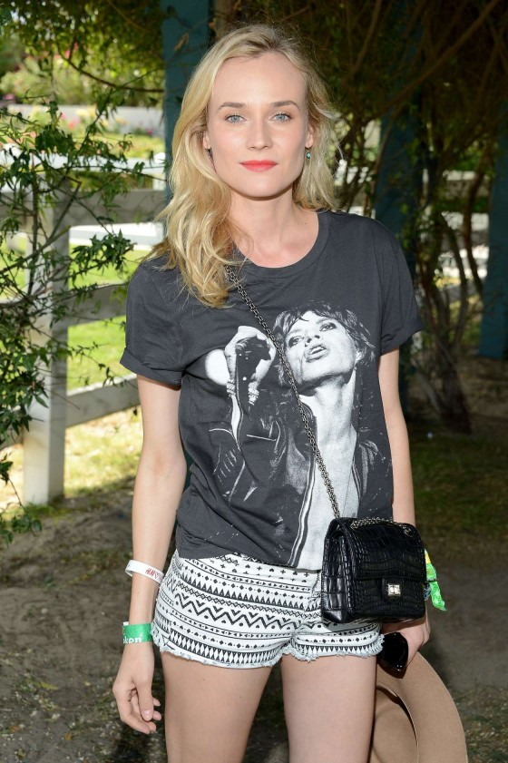 Diane Kruger at HM Loves Coachella Event 2013 -03