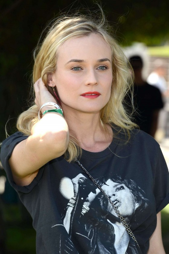 Diane Kruger at HM Loves Coachella Event 2013 -05