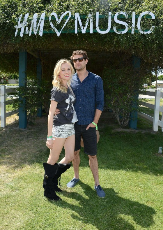 Diane Kruger at HM Loves Coachella Event 2013 -06