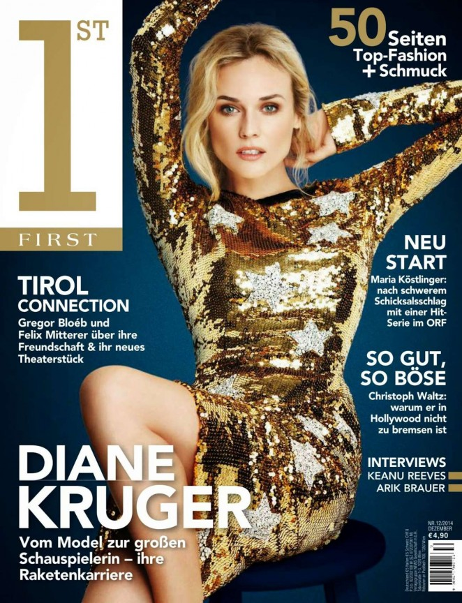 Diane Kruger - First Austria Magazine (December 2014)