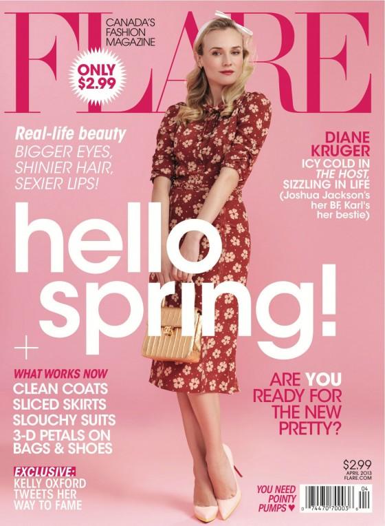 Diane Kruger - Flare Magazine - April 2013 -02