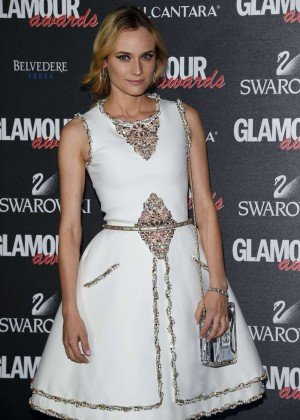 Diane Kruger - Glamour Awards in Milan