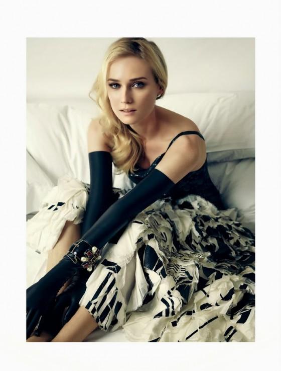 Diane Kruger: Harpers Bazaar Brasil -06