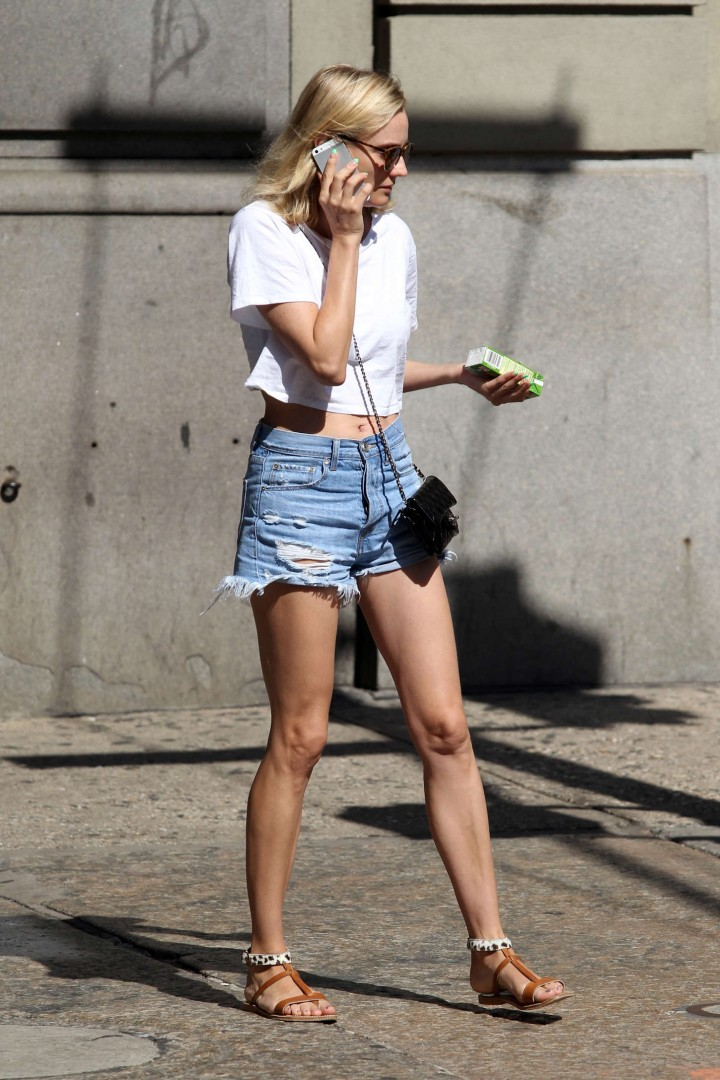 Back to post Diane Kruger in Shorts out in NYC