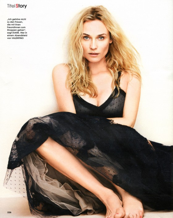Diane Kruger – InStyle Magazine Germany (December 2011)