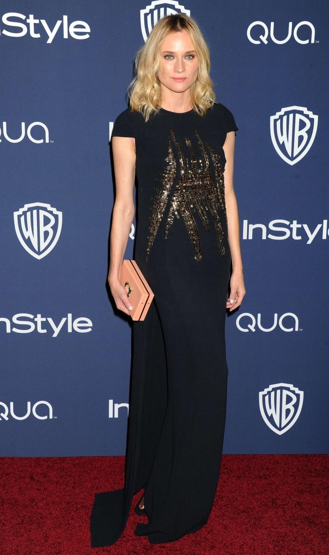 Diane Kruger – InStyle & Warner Bros Golden Globes after party